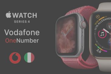 Revealed the cost of the service OneNumber of Vodafone for the Apple Watch Series 4 LTE