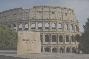 The first Now gets to Rome: home delivery within 1 hour