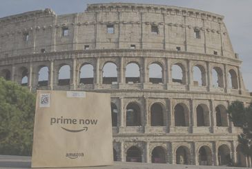 Amazon Prime Now comes also in Rome: shopping with home delivery within 1 hour!
