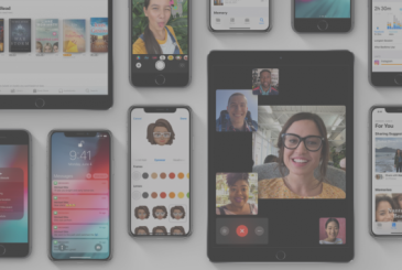 Available the first public beta of iOS 12.1 with Facetime Group