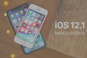 Available the first public beta of iOS 12.1