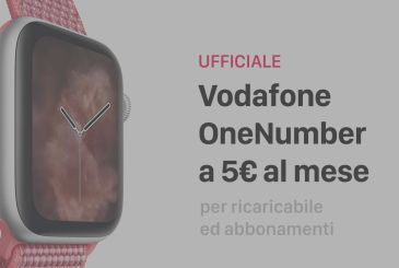 Official: Here's OneNumber of Vodafone, the plan to use the Apple Watch Series 4 Cellular