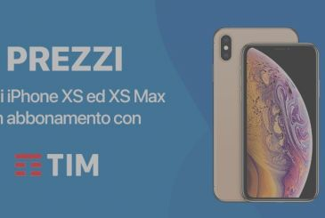 Official: Here are the prices for buy the iPhone XS and XS Max subscription with TIM