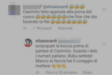 La prova del cuoco plays the flop: pulls a bad air in the Rai, the only fault is Elisa Isoardi?