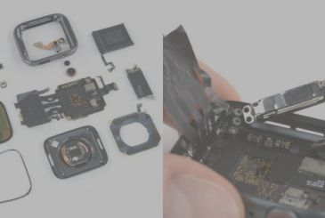 IFixit disassembles the Apple Watch Series 4, in that order!