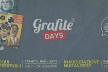 Graphite: talks professional with Davide Barzi and inauguration of the new headquarters