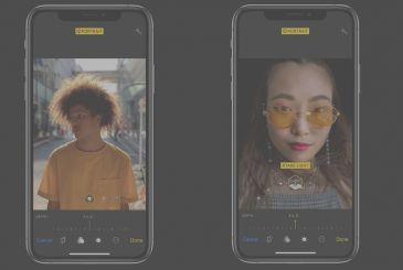 IPhone XS with iOS 12.1 beta allows you to adjust in real time the depth of the picture in Portrait mode