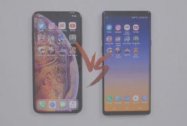 The iPhone XS-Max and Galaxy Notes 9 will compete in a speed test [Video]