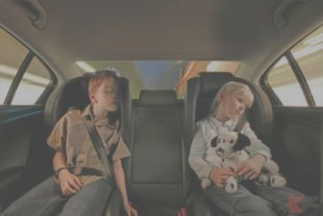 Seat the baby in the car: alarm system required