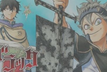 Black Clover, announced the manga Quartet Knights