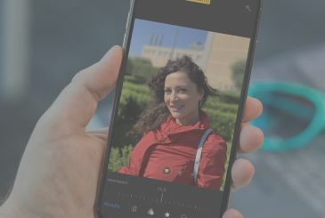 Here is the portrait mode of the new iPhone XS and how to change the depth