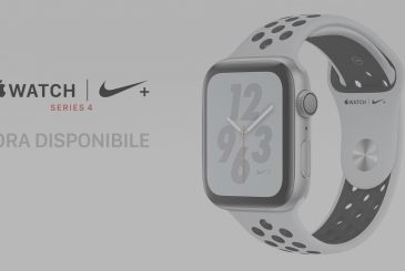 Apple Watch Series 4, Nike+ Edition is available from today in Italy: even with the pickup in Store instant!
