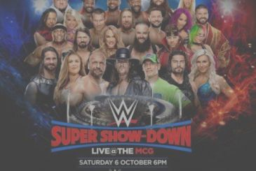 WWE Super Show-Down: all the match of the Pay-Per-View channels, australian