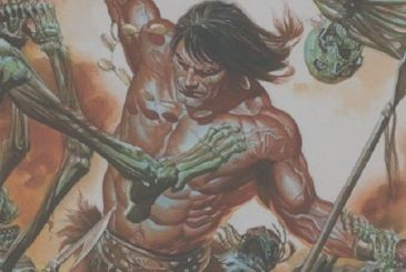 Savage Sword of Conan: the creative team and the cover by Alex Ross