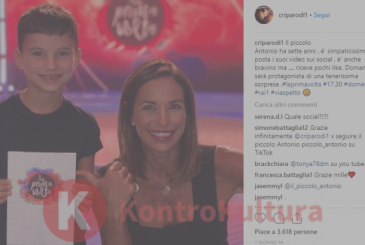 Cristina Parodi show the breast before the live: the photograph boiling becomes viral