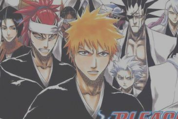 BLEACH – Can't Fear Your Own World: the official cover of the 2nd volume
