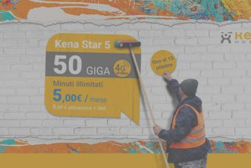 Kena 5 Star: unlimited minutes, 50GB in 4G just 5€ per month for ever for those who switch from the Iliad