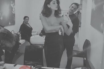 Belen Rodriguez hot without a bra, but the fan does not escape a particular disturbing