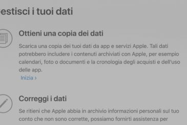 Apple offers the possibility to download their data on the company servers in 4 new Countries