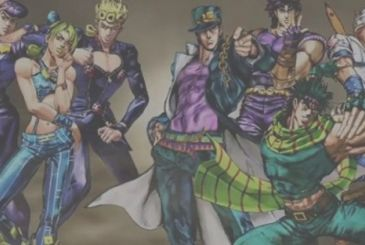 The Bizarre Poses from JoJo