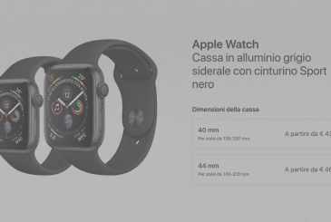 Apple Watch Series 4 available for immediate pickup in many Apple Italian Store