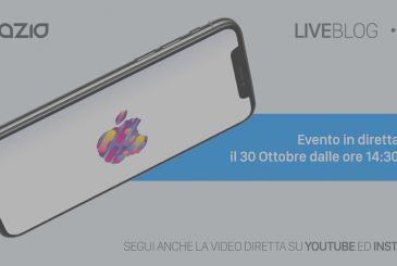 The Apple event on October 30: follow it live on the iSpazio with LIVEBlog + direct YouTube