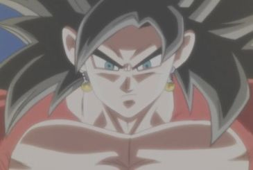 Super Dragon Ball Heroes: the official design of Vegetto Super Saiyan 4