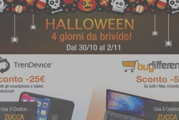 Halloween special on TrenDevice and BuyDifferent: 4 days of discounts to thrill!