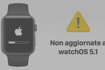 Caution: some of the Apple Watch will lock during the update to watchOS 5.1