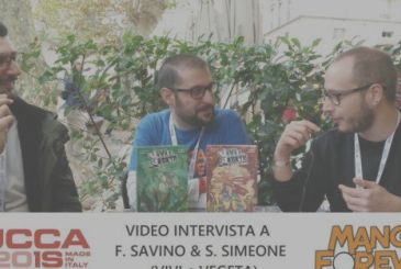 Video Interview with F. Savino and St. Simeon (Live & Vegeta) | Lucca Comics and Games 2018