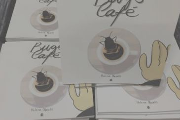 A coffee at the stand Bugs Comics: interview with Helena Masellis | Lucca Comics and Games 2018