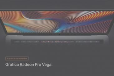 The MacBook Pro is now also available with graphics Radeon Pro Vega 3.699€
