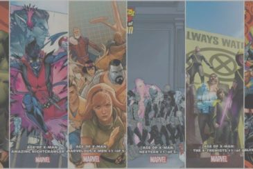 Marvel – Age of X-Man: the creative teams of the six series spin-off