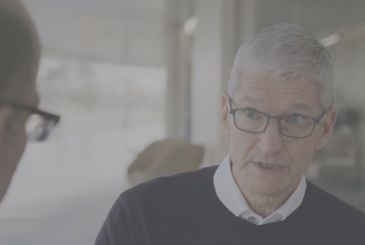 The CEO of Apple Tim Cook in an interview with HBO