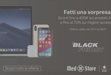 Party Black Friday Med Store, discounts up to 400 euros on Apple products