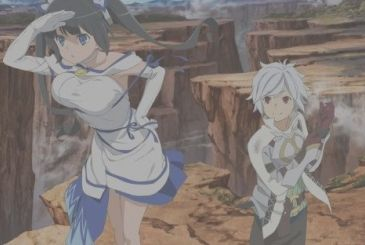 DanMachi the Film – Arrow of the Orion, a new video, and visual