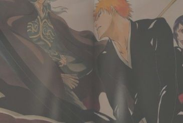 Bleach: Tite Kubo draws the Hands of Shinji Hirako and Shuhei Hisagi
