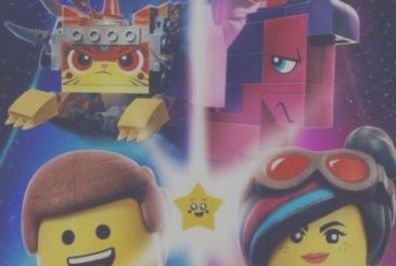 The LEGO Movie 2: a short christmas with Batman and Emmet