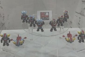 Go Nagai Robot Mini Figures: the collection arrives on the newsstand