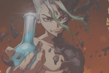 Dr. Stone, the teaser video of the animated series