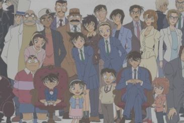 Detective Conan, the manga is still firm