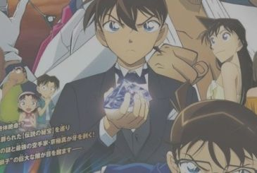 Detective Conan: Fist of the Blue Sapphire, two new posters of the film