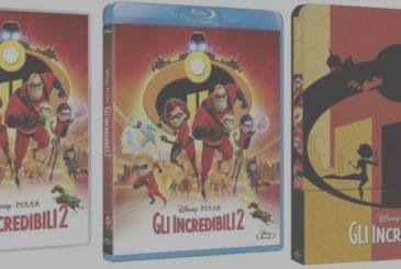 The Incredibles 2: extras and technical specifications of edition home video