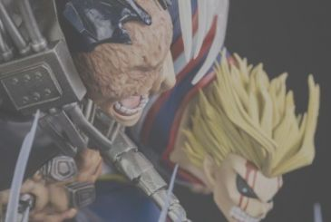 "My Hero Academia: the action figure of ""the United States of Smash"" from Tsume"