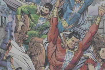 Shazam!: confirmation of some of the characters from the action figures, cameo of Superman