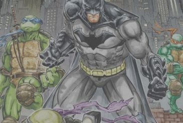 Batman/Ninja Turtles: the crossover will become an animated movie