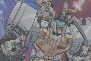 Ghostbusters and Transformers together in a new comic book IDW