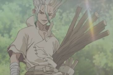 Dr. Stone, the second teaser video of the animated series