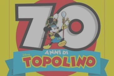 Happy birthday Mickey mouse, 70 wonderful years in Italy