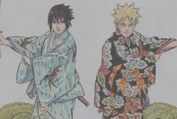 Naruto: the key visual for the second run of the play Kabuki